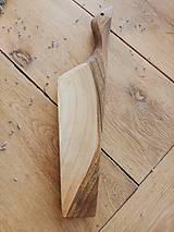 Pomôcky - Masívna doska na krájanie 06 - 10255949_