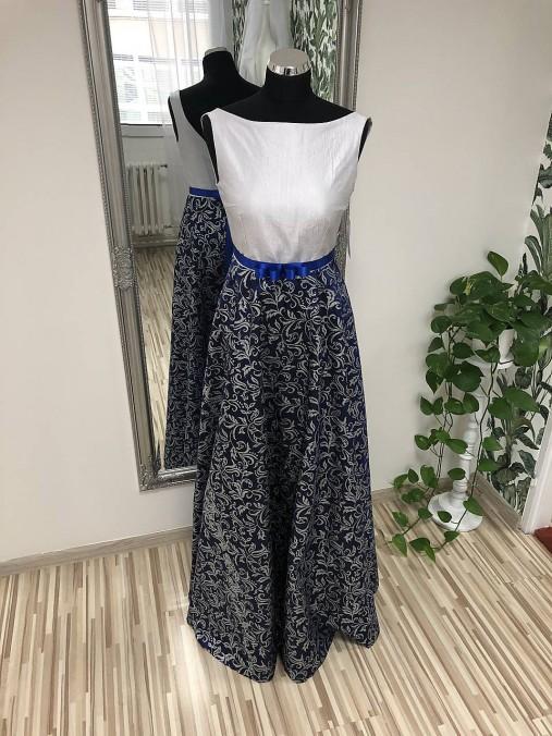 Dlhé taftové šaty   SalonCyntia - SAShE.sk - Handmade Šaty 9966b14bce