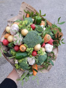 Nezaradené - Zeleninová kytica - 10256057_