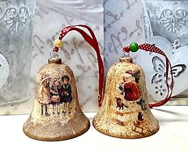 Dekorácie - vianočné zvončeky - 10255986_