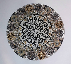 Obrazy - mandala Slnovrat , nový začiatok - 10256032_
