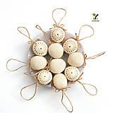 Dekorácie - NOVINKA: obrovské orechy kráľovské (100% biobavlna, 10 ks) - 10257043_