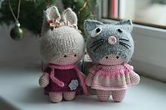 Hračky - Bábiky dvojčatá - 10257280_
