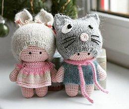 Hračky - Bábiky dvojčatá - 10257277_