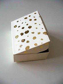 Krabičky - zlato z neba padá... - 10256850_