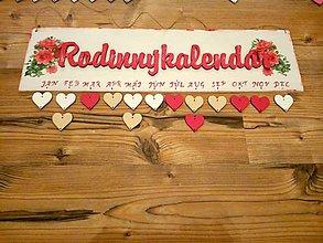 Tabuľky - Rodinný kalendár - 10257199_