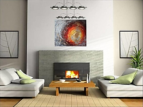 Obrazy - Teplo domova - 10257036_