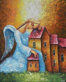 Grafika - OCHRÁNCA DOMOVA - 10257492_