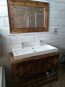 Nábytok - Kúpeľňa so starého dreva 3 - 10257125_