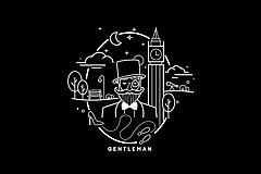 Tričká - Gentleman tričko - 10257001_