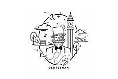 Tričká - Gentleman tričko - 10257002_