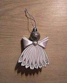 Drobnosti - Saténový anjel II. - 10257087_