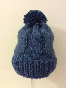 Čiapky - pletená čiapka - 10257297_