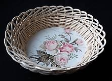 - Košík s ružami - 10256899_