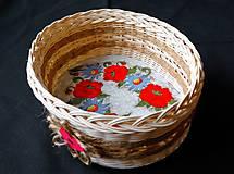 Košíky - Košík RUSTICAL - 10256925_