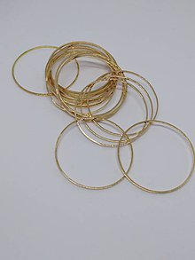 Komponenty - Kovové tvary - medzikusy - pár - 10257443_