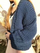 Blue jumper-vlna, alpaka