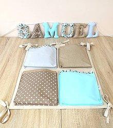 Textil - Vreckár+písmenká - 10258028_