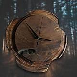 Hodiny - Drevené dekoračné hodiny - Artefakt 2 - 10258362_