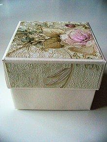 Krabičky - romantická nielen pre družičky... - 10258539_