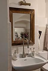 Zrkadlá - Zrkadlo so starého dreva - 10258436_