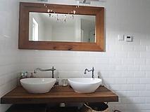 Nábytok - Kúpeľňa so starých dubových hranolov 4 - 10258669_