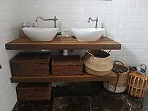 Nábytok - Kúpeľňa so starých dubových hranolov 4 - 10258670_