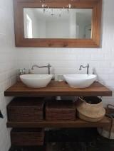 Nábytok - Kúpeľňa so starých dubových hranolov 4 - 10258671_