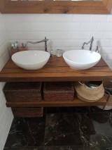 Nábytok - Kúpeľňa so starých dubových hranolov 4 - 10258672_