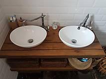 Nábytok - Kúpeľňa so starých dubových hranolov 4 - 10258673_