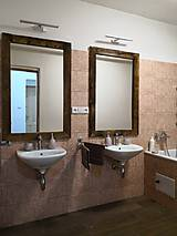 Zrkadlá - Zrkadlo so starého dreva - 10258677_