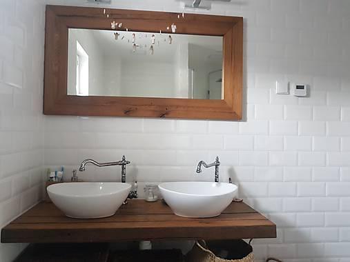 Kúpeľňa so starých dubových hranolov 4