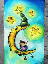 Obrazy - Svetielka (nielen Vianočné) ;) - 10258605_