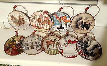 Dekorácie - vianočné rozprávkové gule - 10259066_