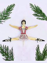 Pohyblivá hračka - Baletka (Ružová)