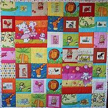Textil - Detská hracia deka - 10259584_