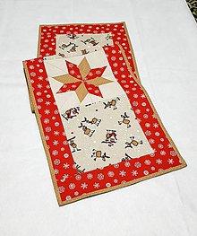 Úžitkový textil - Vianočný obrus-zľava - 10260881_