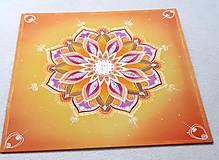 Dekorácie - Mandala Povzbudivej lásky - 10259974_