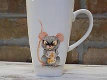 Nádoby - Hrnček s myškou - 10260853_