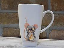 Nádoby - Hrnček s myškou - 10260854_