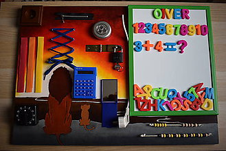 Hračky - Activity board - akcia - 10259771_