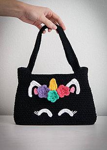 Kabelky - Dievčenská kabelka Unicorn - 10260652_