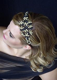 Ozdoby do vlasov - Čelenka Elsa - 10259846_