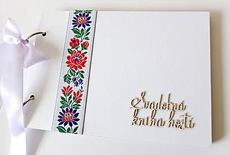 Papiernictvo - svadobná kniha hostí - 10261204_