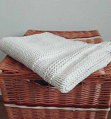 Úžitkový textil - Predložka natur - 10262662_