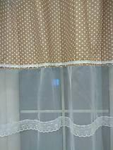 Úžitkový textil - Záclonka  šírka 280 cm - 10262285_