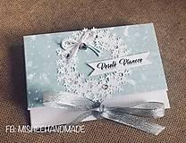 Papiernictvo - Vianočná obálka na peniaze - rôzne druhy - 10261476_