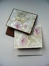 Papiernictvo - romantický CD obal - 10262061_