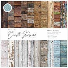 Papier - Sada papierov Wood textures ( 30,5 x 30,5 cm) - 10262416_