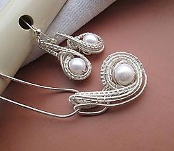 Sady šperkov - perla v objatí - 10262004_